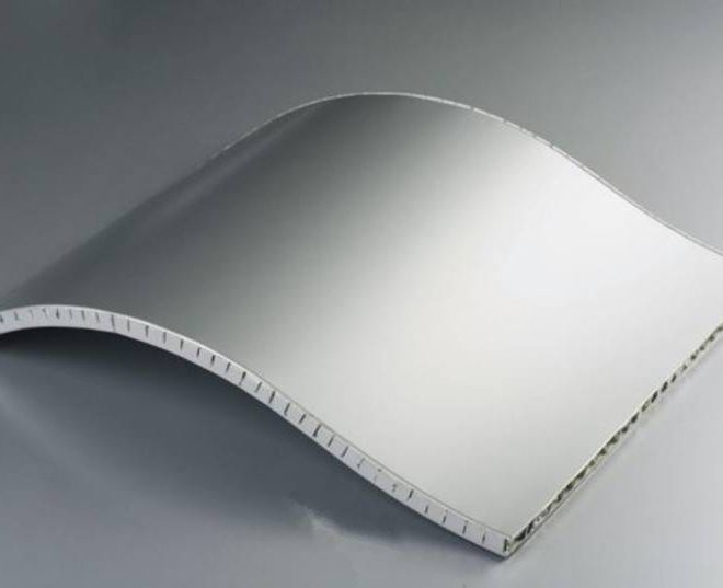 Honeycomb Curved panel