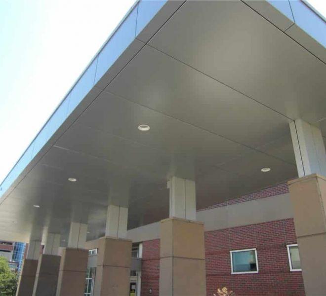 Aluminum Composite Panel Canopy