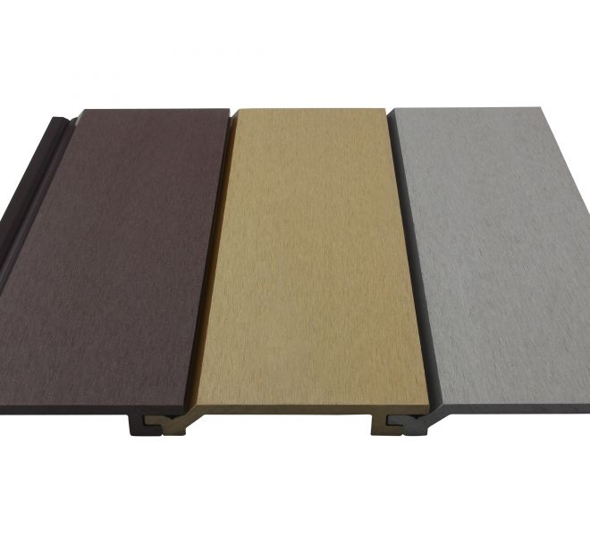 Wood Plastic Composite Coloured Wall Cladding