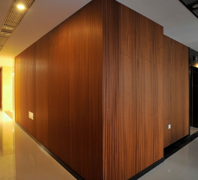 Wooden Veneer Honeycomb Panel